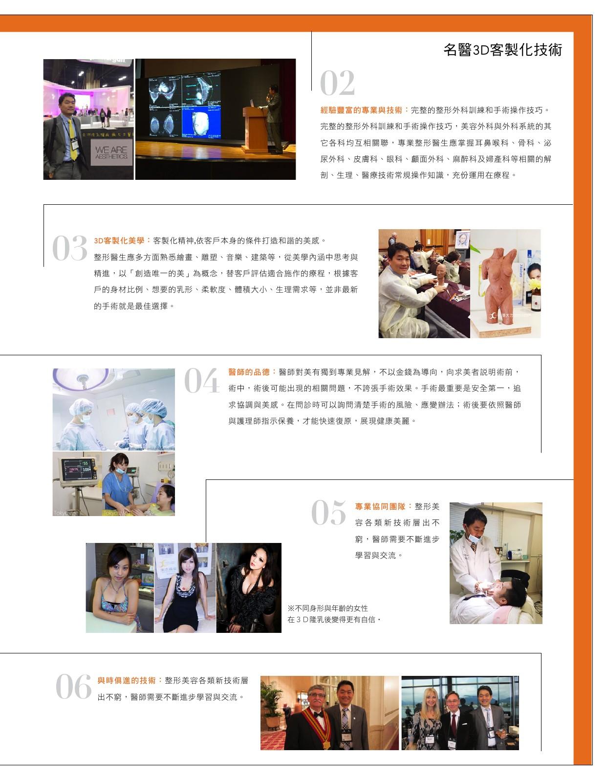 3D整形美學 名醫打造女性風采-雜誌專訪-張大力-整形名醫-東京風采