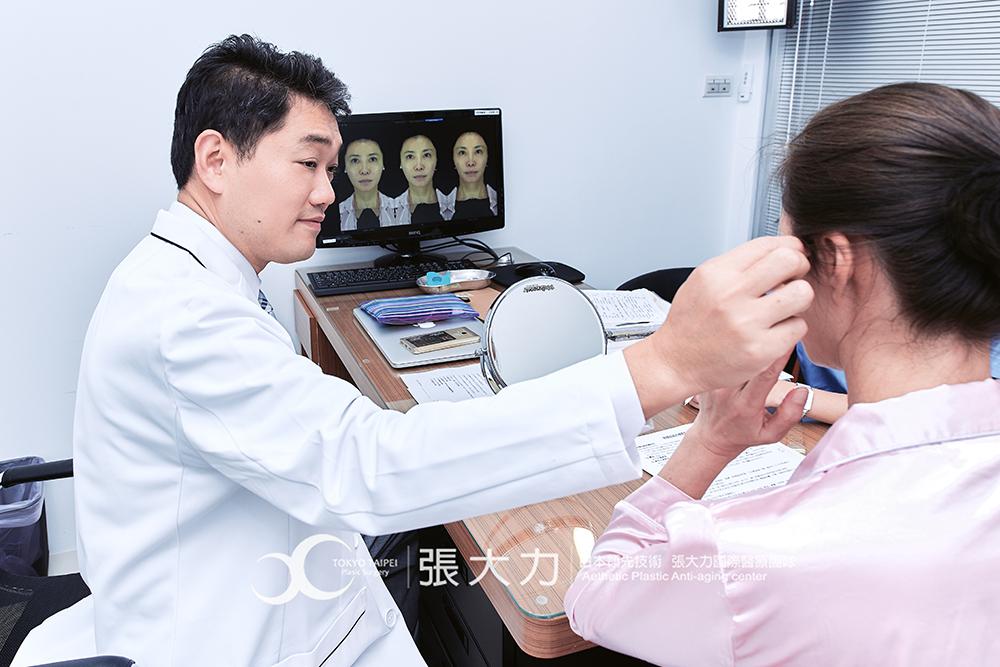 抽脂豐頰手術前醫師問診